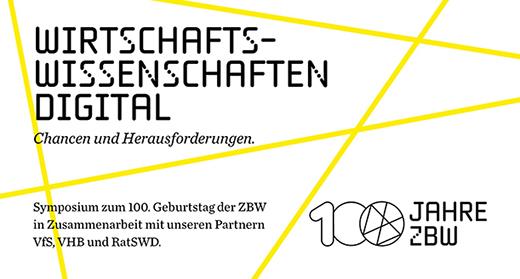Bild Symposium Wirtschaftswissenschaften digital