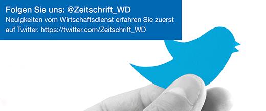 Wirtschaftsdienst auf Twitter