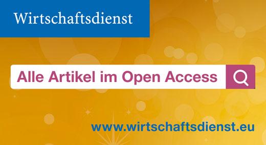 Wirtschaftsdienst goes open access