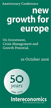 flyer conference new growth for europe